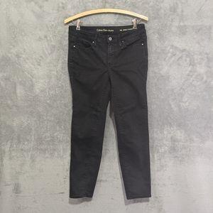 🌻5/15$ Calvin Klein black ankle skinny jeans